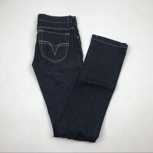 DIESEL LIV Stretch Straight Leg Jeans Size 26